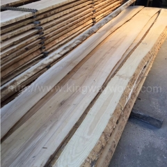 Kingwaywood European Ash unedged timber Wood Board Board Solid Wood wholesale
