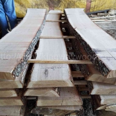 Kingwaywood imported from Germany high-quality white oak board solid wood panel unedged timber lumber wholesale