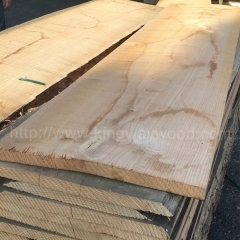 kingwaywood import French red oak board wood unedged board A/AB lumber wholesale  solid wood wholesale