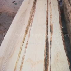 kingwaywood import European white ash wood solid wood Scandinavian furniture wood ash wood rough unedged lumber 26mmABC wood wholesale wholesale