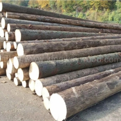 kingwaywood imports European spruce logs solid wood ABC grade raw material with a monthly supply of 20,000 square meters wholesale