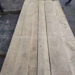 kingwaywood European oak white oak solid oak straight edged solid wood plank timber 32mmABC wholesale